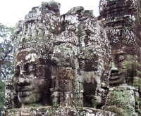 The enigmatic faces of Bayon.