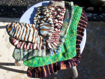 five socks