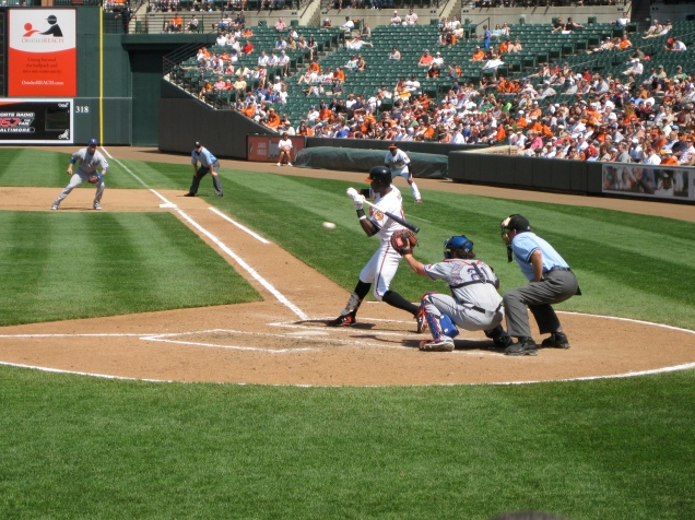 May 26, part 2: If I recall correctly, this swing resulted in a home run.
