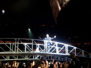 Bono on Bridge