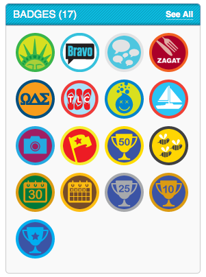 Foursquare Badges