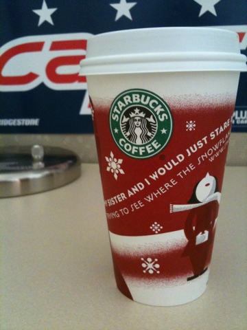 Gingerbread latte: more addictive than beer. At least for me.