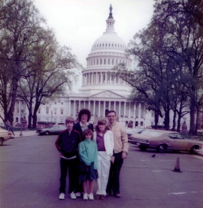 Visiting the Capitol when I was 12.