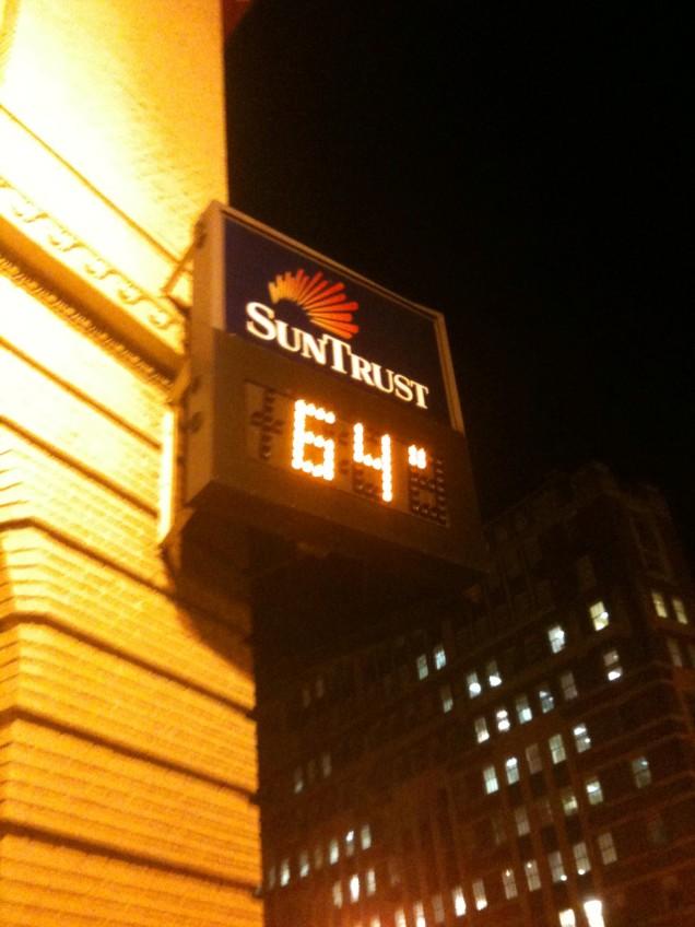 Today's Dupont Circle heatwave.