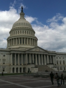 My touristy shot of the Capitol, taken during Wendy & Bob's visit.