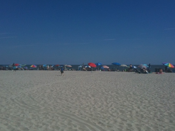 Cape May beach, July 30, 2011