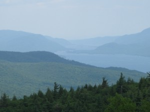 The Adirondacks, from Prospect Mountain