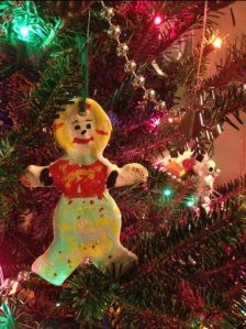 I made this ornament for my grandpa when I was five.