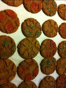 Mom's gingersnaps.