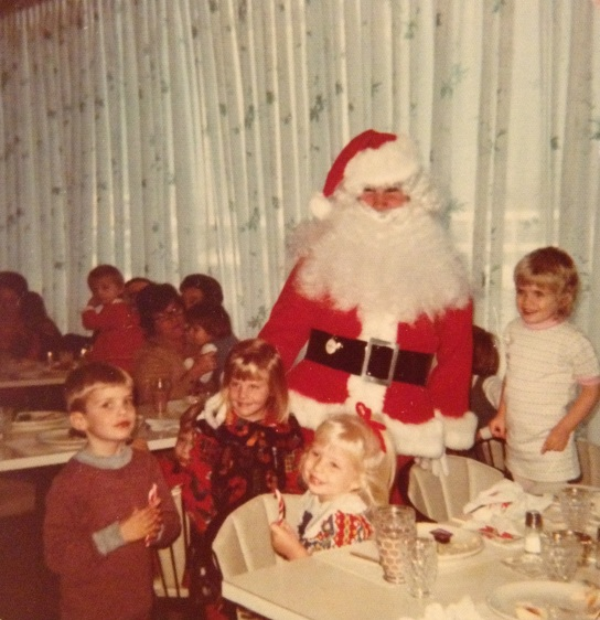Breakfast with Santa Claus, c. 1974