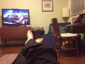 The view from my couch.