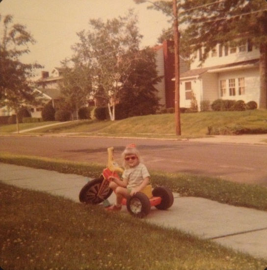 Me and my sweet ride, c. 1976.