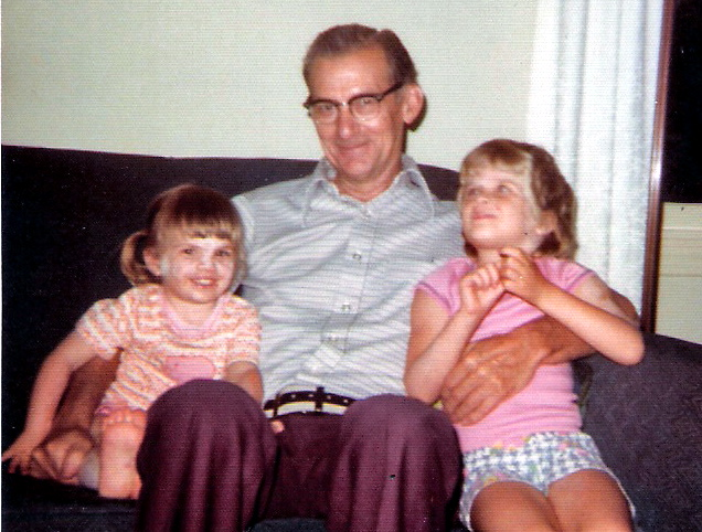 Eileen, Grandpa McG, and Me, circa 1977