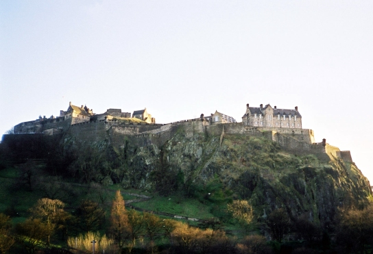 Edinburgh Castle, March 2002