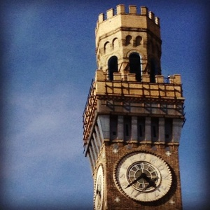 I was in Baltimore for work today and took this picture of the Bromo Seltzer tower.