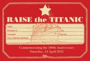 [Fund]Raise the Titanic