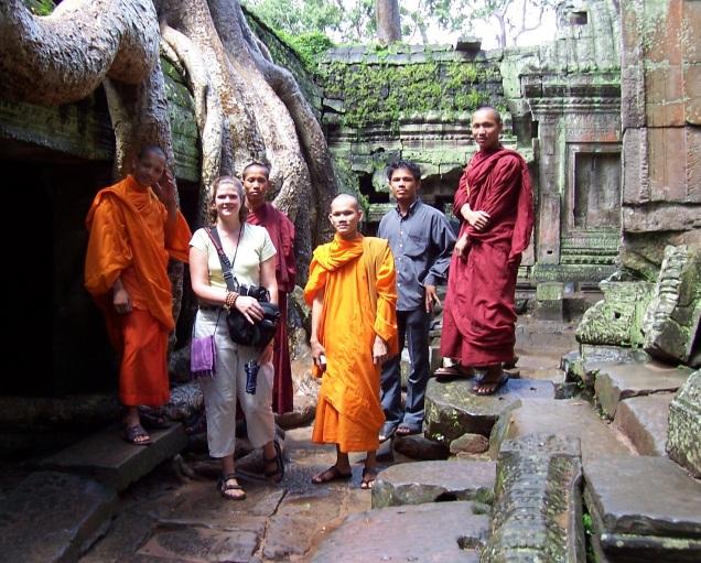 Ta Prohm Temple, Cambodia, 2006