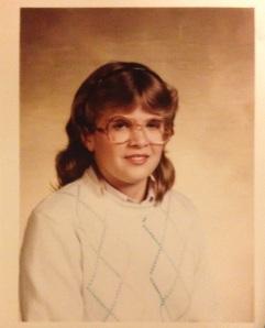 My school photo from 1983 - 7th grade.