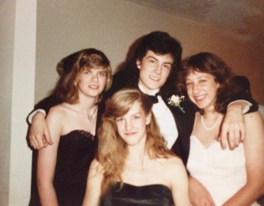 Junior prom, May 1988.