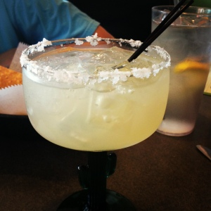 Oh, there were margaritas before today's shopping trip, too, which were also quite enjoyable.