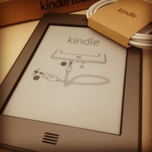 Tangentially related to this post: My new Kindle arrived this week!