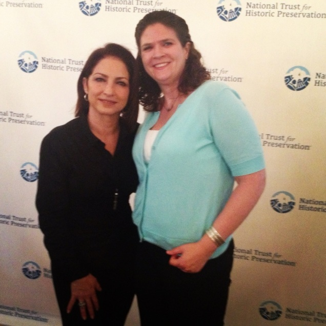 Gloria Estefan! My inner 13-year-old was pretty damn excited, let me tell you.