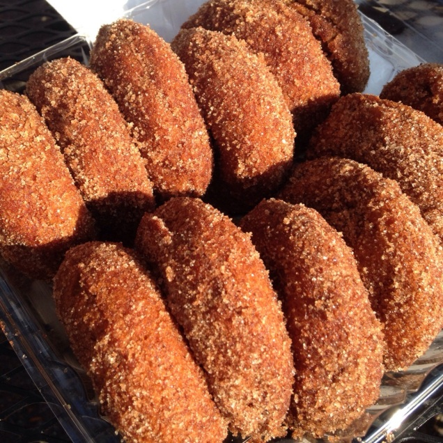 Cider donuts, always the best part of our annual fall ritual.
