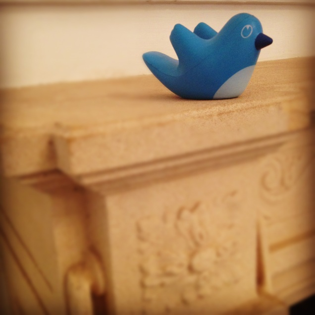 My little Twitter bird.