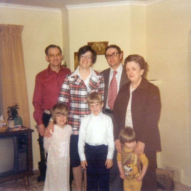 Family picture, c. 1976.
