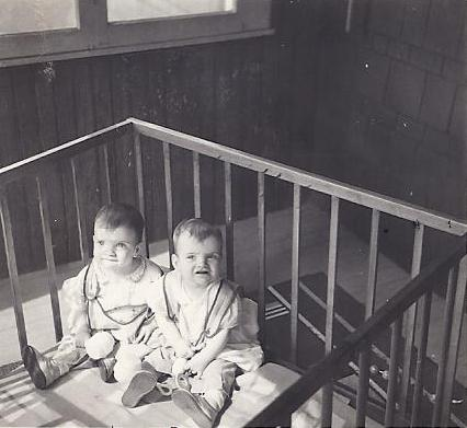Mary & Fran, 9 months