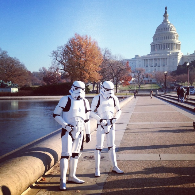 Stormtroopers at the Capitol!
