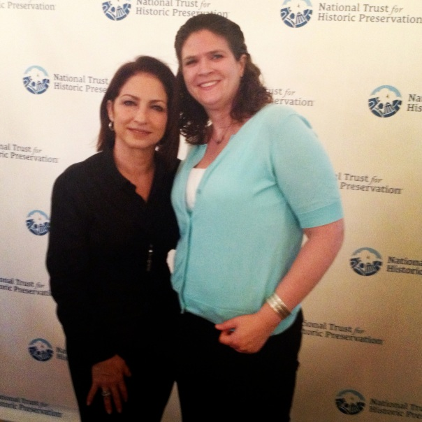 Gloria Estefan -- and me!