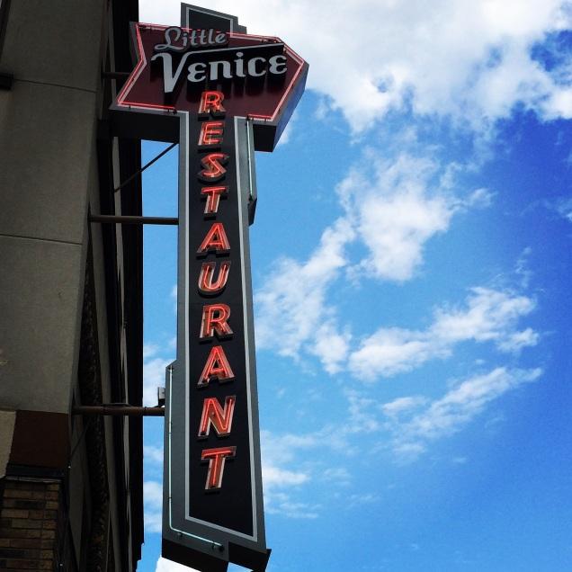 My favorite restaurant in Binghamton, the Little Venice.