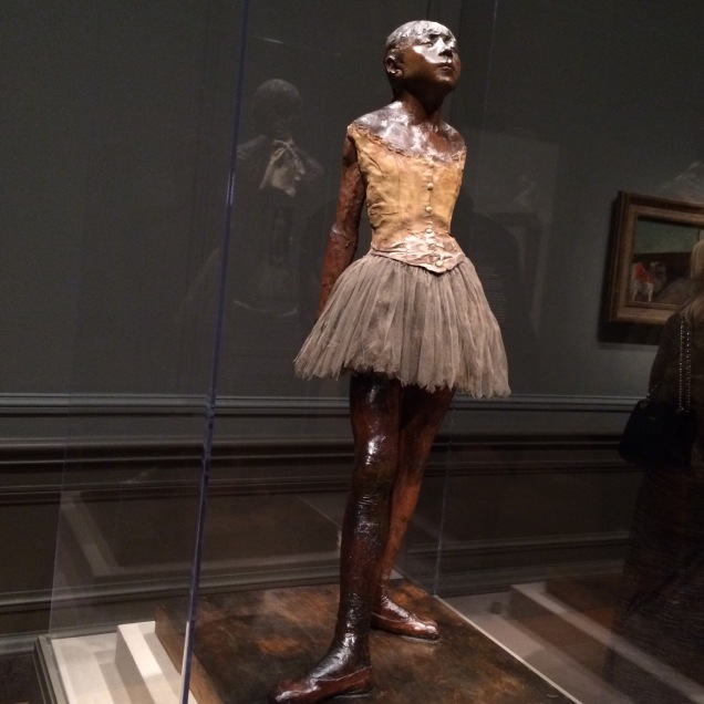Degas' Little Dancer at the National Gallery of Art.